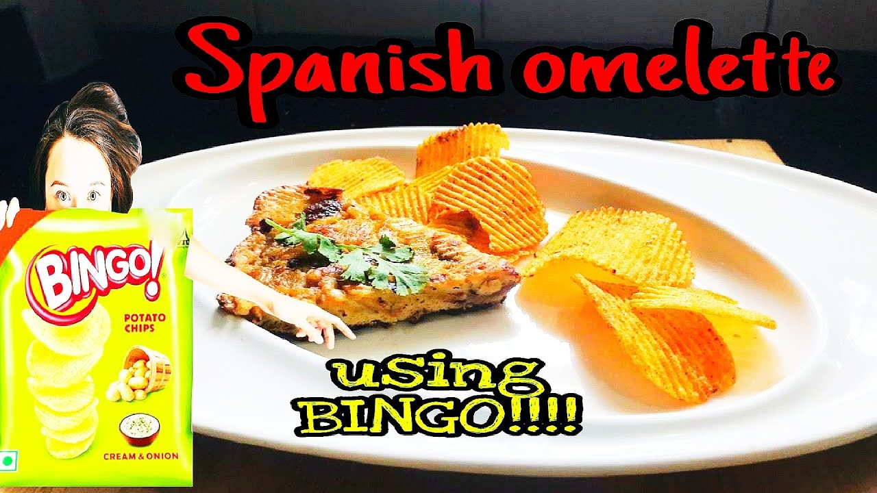 Spanish Omelette Using Bingo