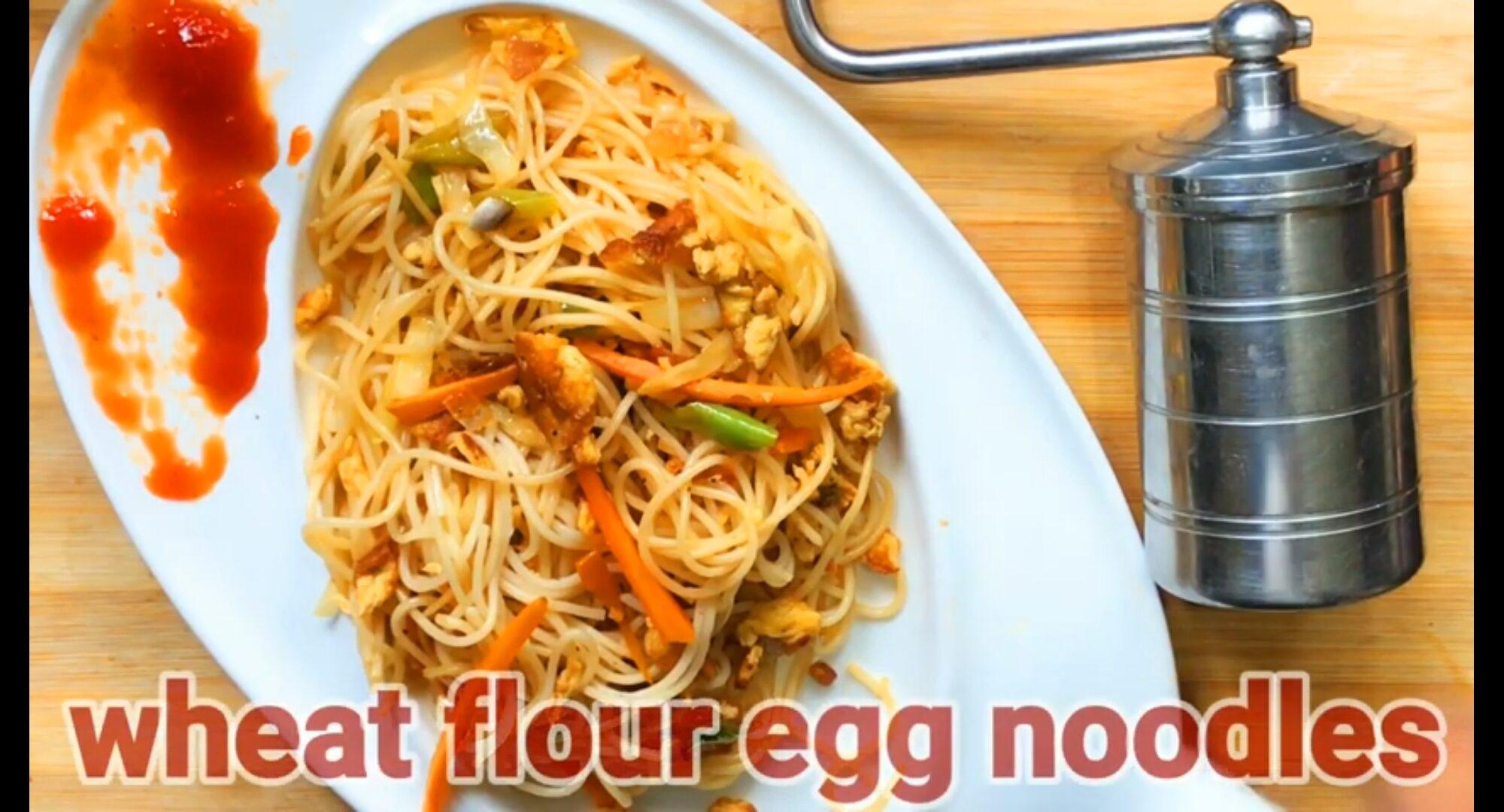 Wheat Flour Egg Noodles